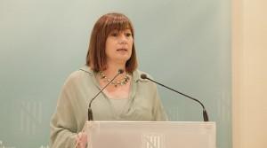 Francina Armengol, durante la presentación de los cambios. (Foto: Govern)