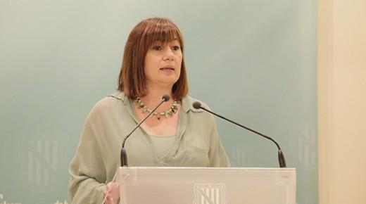 Francina Armengol es la presidenta del Govern Balear