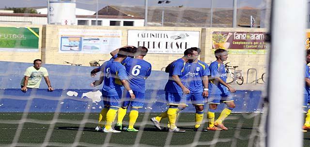Celebración del Penya Ciutadella (Foto: deportesmenorca.com)