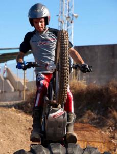 El piloto Guillem Soler (Foto: Federación Balear de Motociclismo)