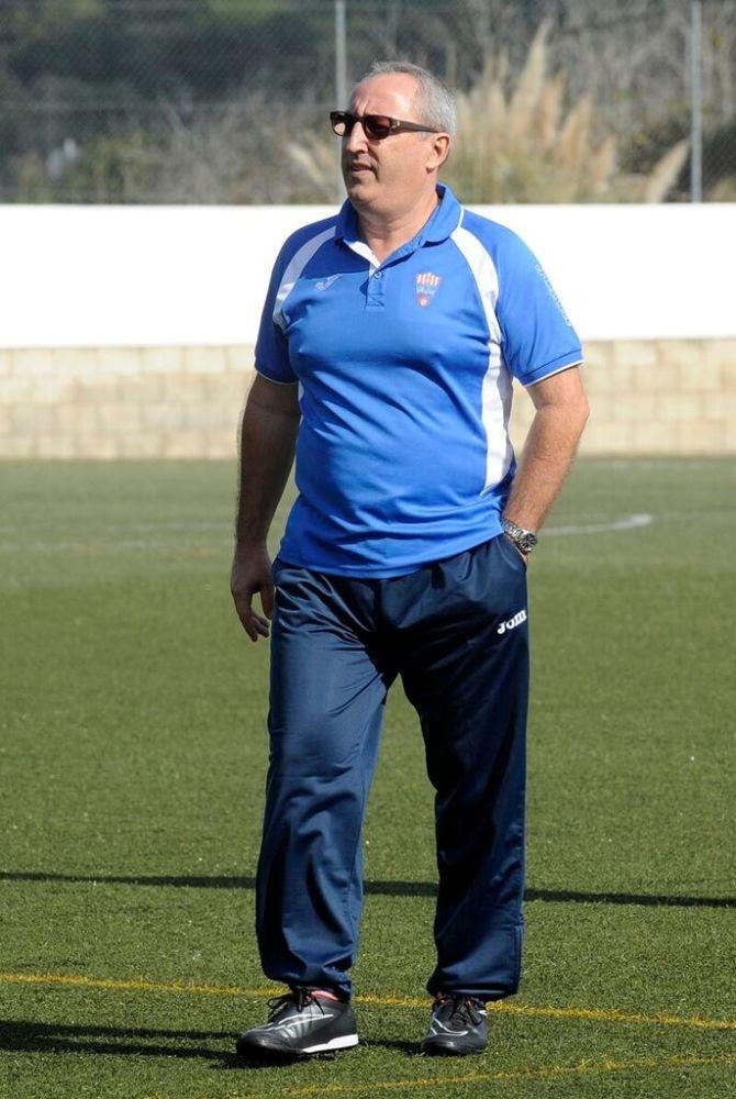 Lluís Vidal, en un reciente partido (Fotos: Tolo Mercadal)