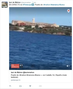 Captura de pantalla de un momento del vídeo lanzado esta mañana.