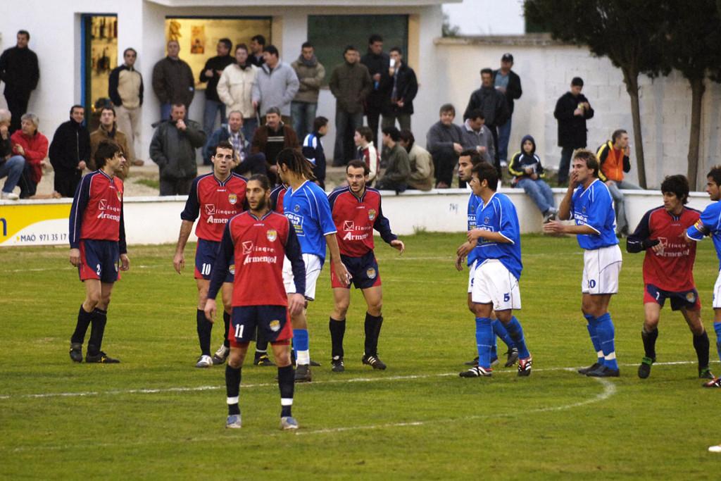 Imagen de archivo del Atlètic Ciutadella, jugando contra el Sporting Mahones.