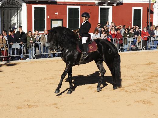 La feria de abril luce caballos menorquines (vídeo y fotos)