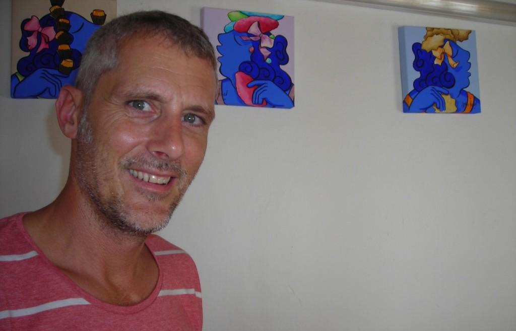 Marc Jesús nació en Eivissa en 1966 y vive en Ciutadella desde los 14 años.