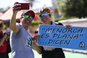 Nuria Picas no ha perdido ni el humor ni la carrera. FOTO.- TMCDC