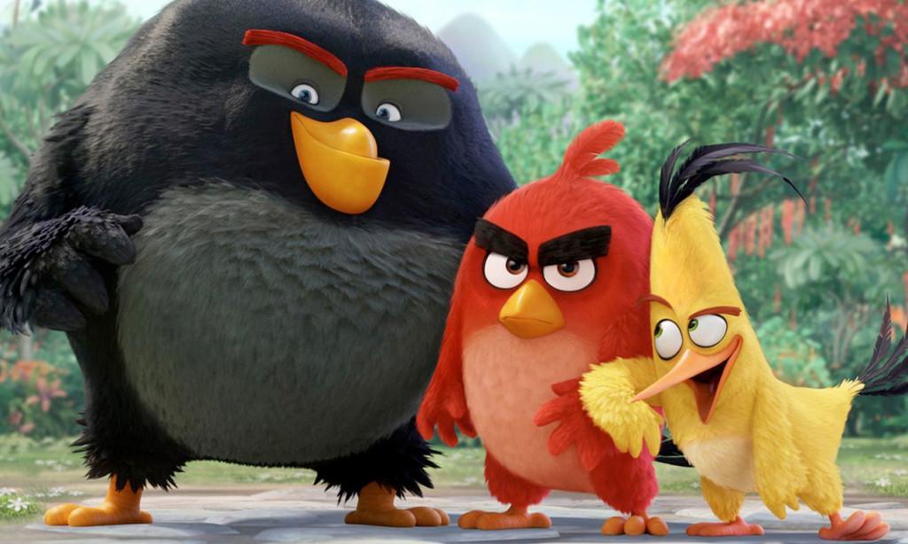 Los Angry Birds llegan a la gran pantalla.