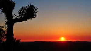 Puesta de sol fotografiada por Calleja desde El Toro (Foto: @JesusCalleja)