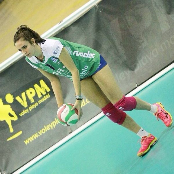 María Barrasa, en un partido con el GH Leadernet (Foto: CV Ciutadella)