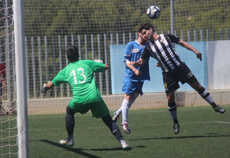 Imagen del partido de ida disputado en Palma (Foto: futbolbalear.es)