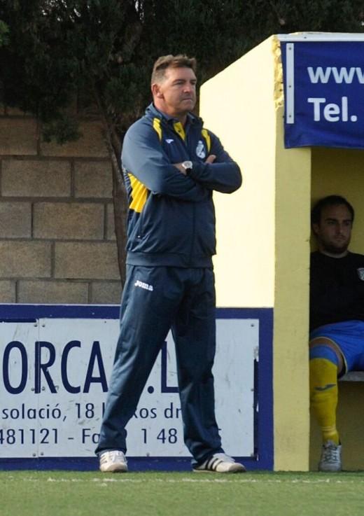 Pere Vadell, en un partido de esta temporada.