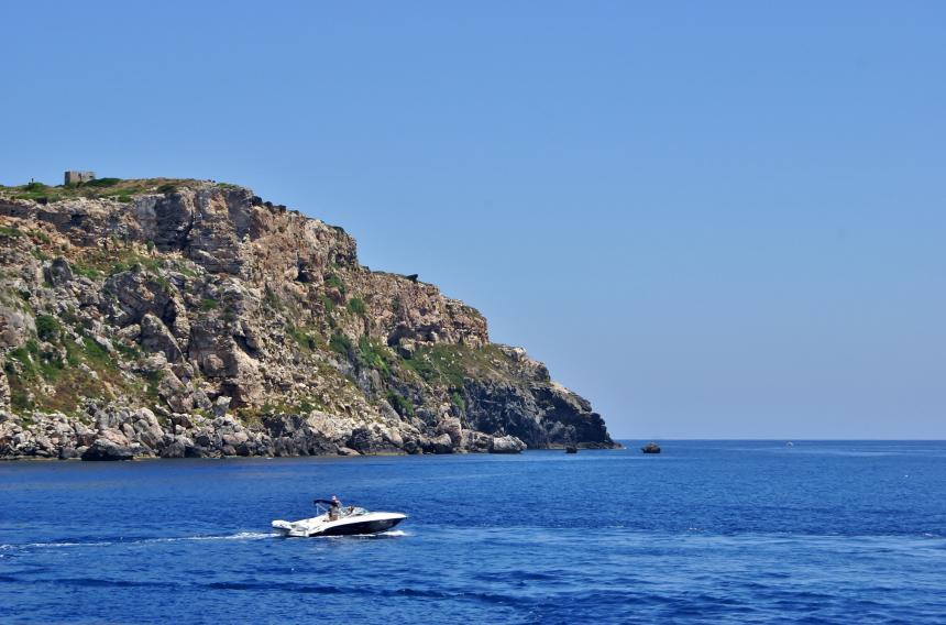 Imagen de la Punta s'Esperó, donde se ha producido el rescate (Foto: buenaventuramenorca.com)
