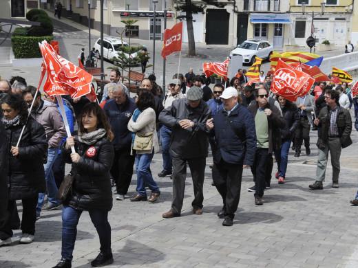 Apenas un centenar de personas conmemoran el 1º de mayo