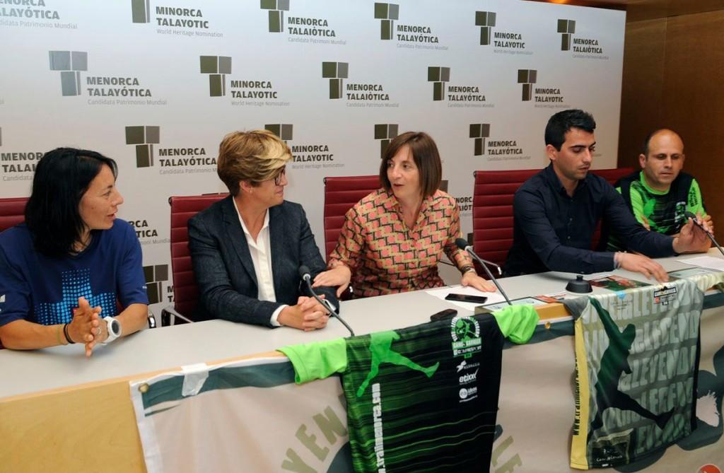 Momento de la rueda de prensa de presentación (Foto: Tolo Mercadal)