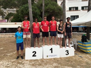 Voley playa masculino.