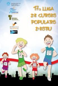 Cartel de las Curses Populars d'Estiu 2016.