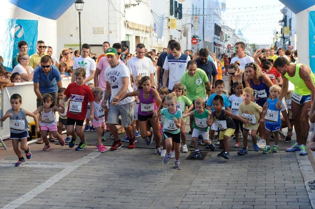 Cursa popular de Sant Lluís del año pasado