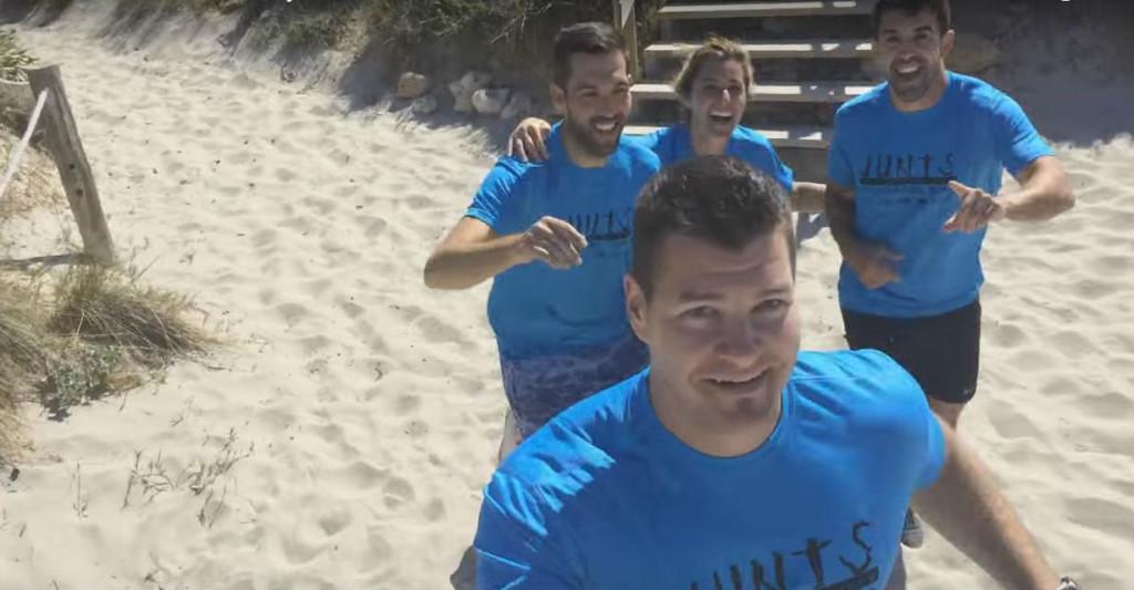 Imagen de uno de los momentos del vídeo.