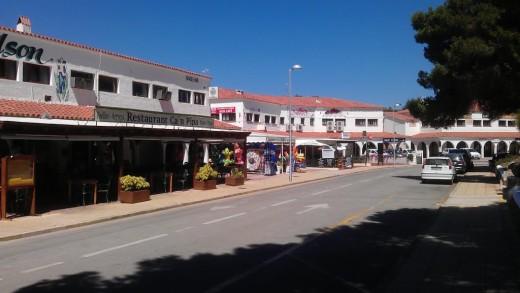 Fotografía de la urbanización Son Parc, en Es Mercadal.