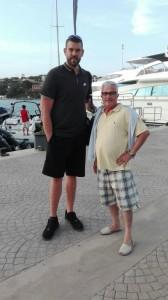 Marc Gasol en Menorca.