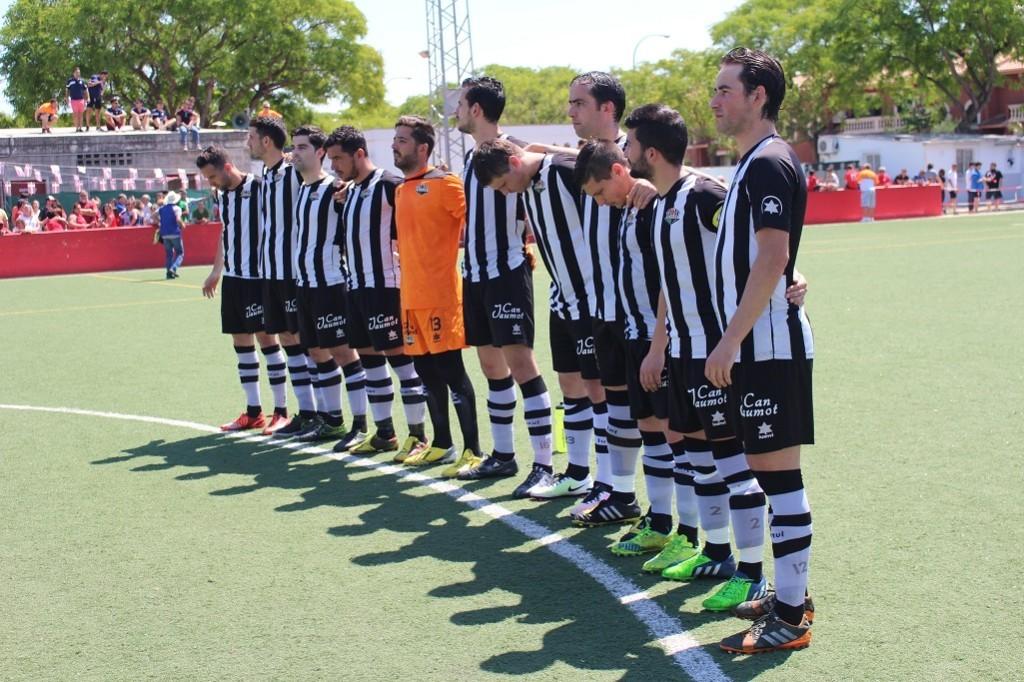 Formación del Alaior que jugó en Son Cladera (Foto: futbolbalear.es)