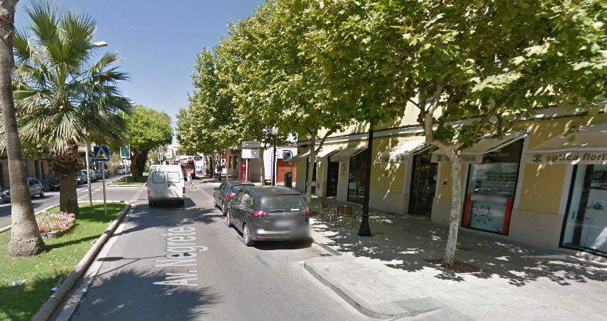 Imagen de la Avinguda Negrete de Ciutadella