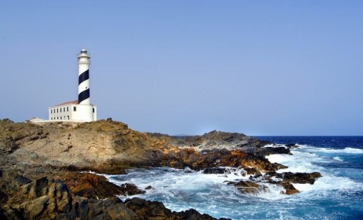 Imagen del Far de Favàritx.