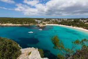 Cala Galdana, en el TOP-20 de playas con bandera azul.