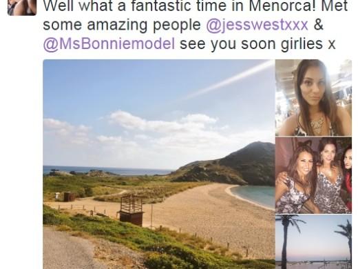 Jess West, Roxy Mendez y Bonnie Bellotti: tres pornstars inglesas seducidas por Menorca