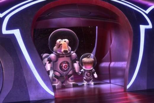 """Scrat y su bellota viajan al espacio para crear """"El gran cataclismo"""""""