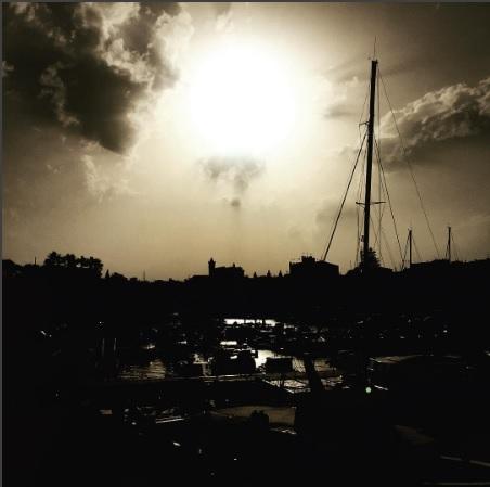 Amanecer en el puerto de Ciutadella