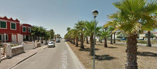Avinguda Son Blanc, en Ciutadella.