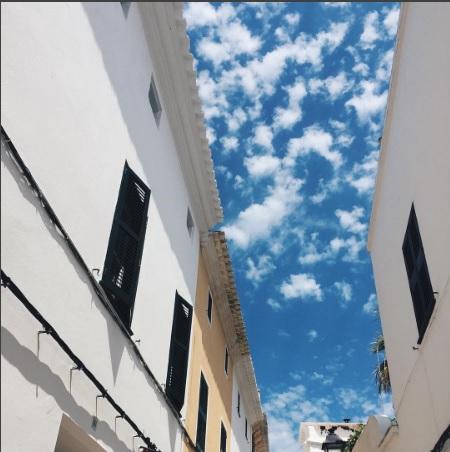 Cielo de Ciutadella