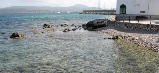 Playa de Es Viver en Fornells.