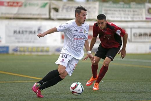 David Camps, en un partido de la Peña Deportiva (Foto: noudiari.es)