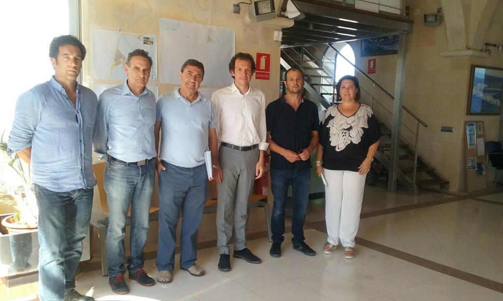Marc Pons presento los proyectos en el núcleo norteño.