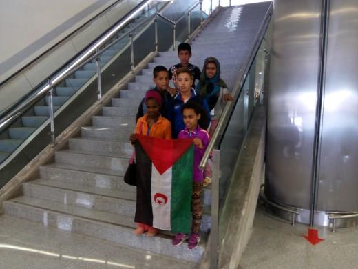 La paz para los niños viene en avión