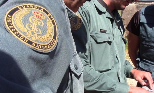 Imagen de agentes del Seprona de Ciutadella.