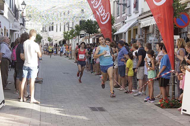 Rafel Quintana, en meta.