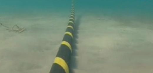 Cable submarino de Red Eléctrica Española.