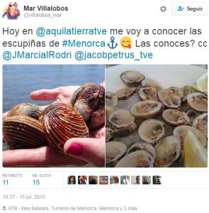 Las escupiñas de Menorca, protagonistas el año pasado.