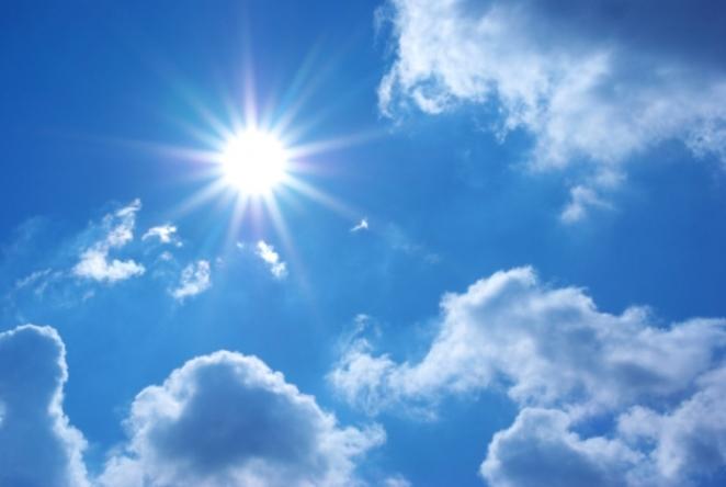 El sol va a apretar y mucho este domingo.