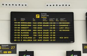 Los aviones de Vueling operaban ayer también con retraso en Maó.