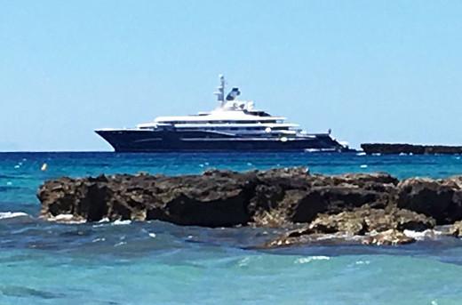 El Al Mirqab en Menorca. Foto: Susana Velayos