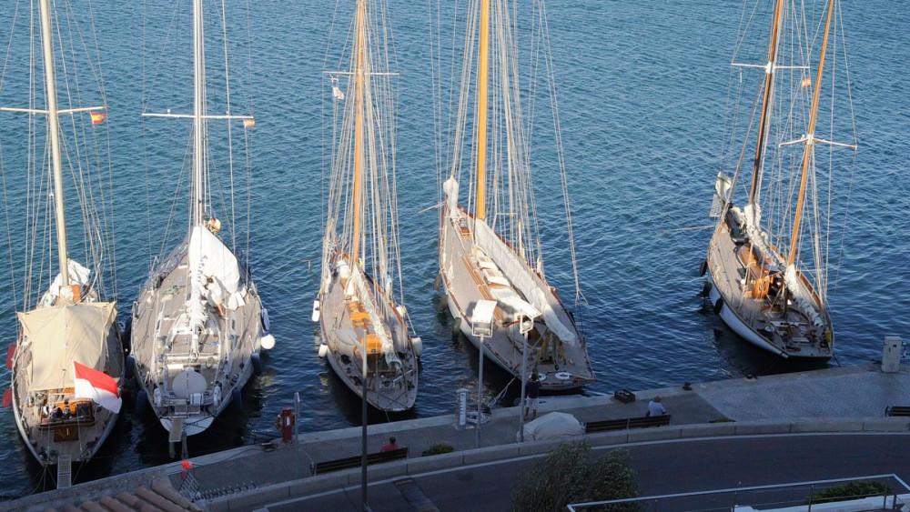 Algunas de las embarcaciones