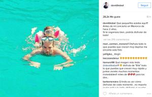 Extracto de su cuenta de Instagram.