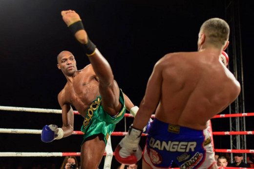 Frank Muñoz, en un combate.
