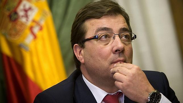 Guillermo Fernández Vara, presidente de Extremadura.