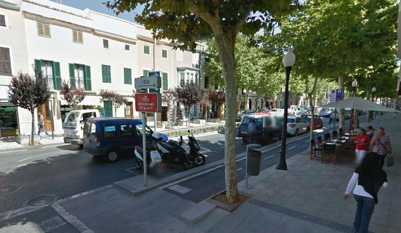 Imagen de la calle Conqueridor de Ciutadella