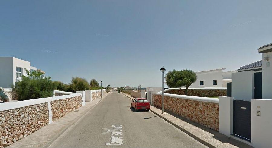 Imagen de la calle en la que se ha producido el asesinato